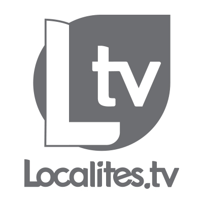 Localites.TV  Logo. Symbol and Signature